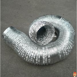 复合管ф250铝箔纸排气扇排气管道油烟机排气管锡箔纸排风管专用