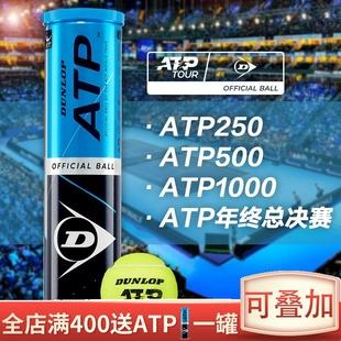 Dunlop登路普 邓禄普网球耐打训练球ATP初学健身练习比赛用球