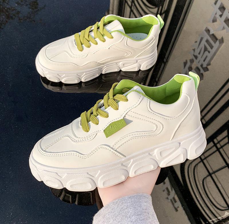 春季板鞋女ins小白鞋子女学生韩版百搭运动鞋女鞋厚底新款包邮