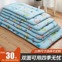 幼儿园儿童床垫宝宝午睡加厚婴儿床垫铺被新生儿褥子定做冬夏两用