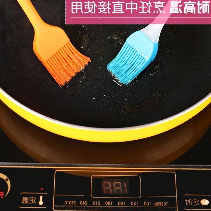 耐高温烧烤刷子不掉毛家用厨房电饼铛烙饼用的刷油小油刷食用毛。
