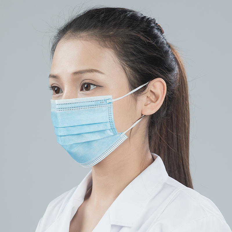 Rongwei disposable medical mask for protection against pathogens