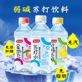 舒小达苏打水350ml×24瓶无糖无气弱碱果味苏打水饮料多规格整箱图片