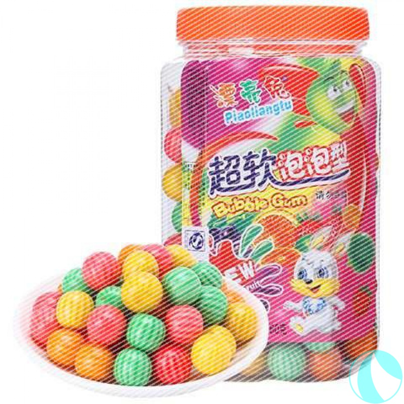Watermelon bubble gum about 185 pieces of chewing gum