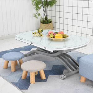 折叠茶几小户型可移动多功能可升降茶几餐桌两用小户型简约客厅伸