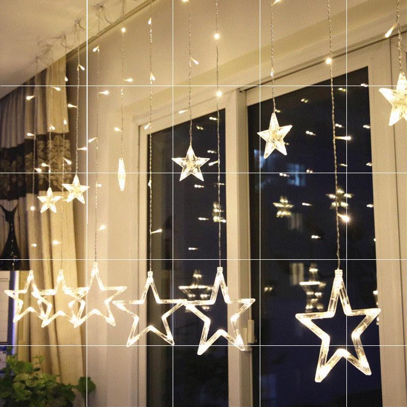 项链女。led小彩灯串灯光直播少女心房间背景装饰浪漫卧室布置。