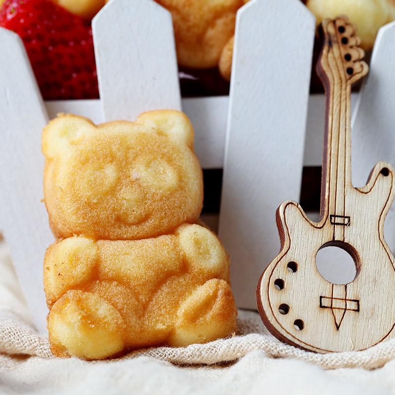 Everest bear cake western style pastry small bread net red snack snack breakfast snack food