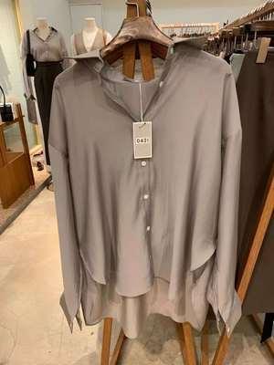 0814A63SYf0后海买全球韩国直播代购专柜现场采购气质光泽感衬衫