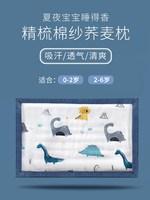 婴儿枕头夏季透气1吸汗2岁3荞麦