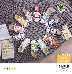 儿童帆布鞋白色鞋宝宝男童 女童鞋子婴儿亲子板鞋球鞋特价韩