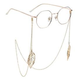 老花墨镜眼睛链子diy流苏复古ins同款装饰太阳眼镜链条挂脖图片