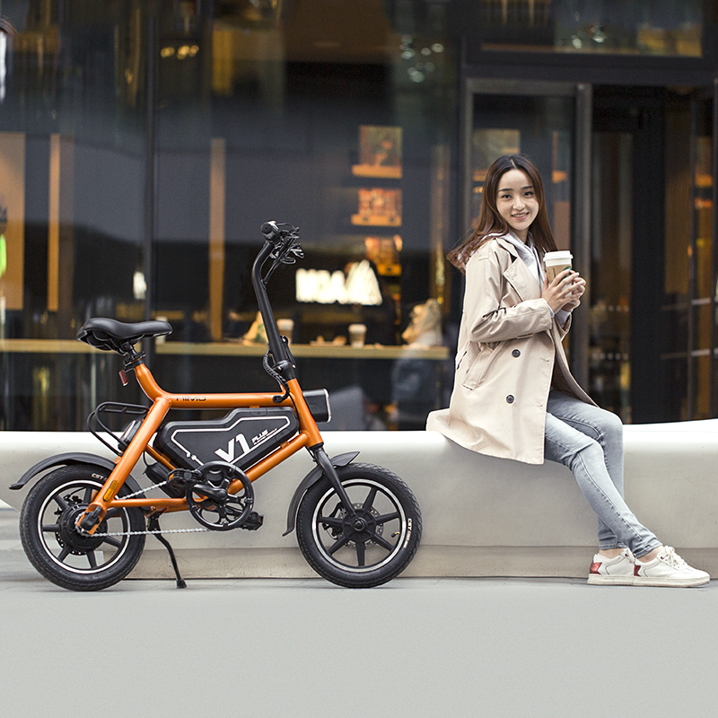 Ximo HimO electric vehicle v1plus light and fashionable new national standard adult aluminum alloy assisted lithium battery bicycle