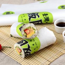 台湾饭团包装纸汉堡纸防油纸一次性鸡肉卷卷饼食品包装纸定制做
