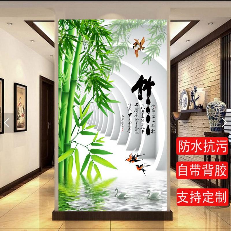 中國代購 中國批發-ibuy99 壁画 入门玄关装饰画竖版走廊过道壁画北欧客厅现代简约招财风水贴画