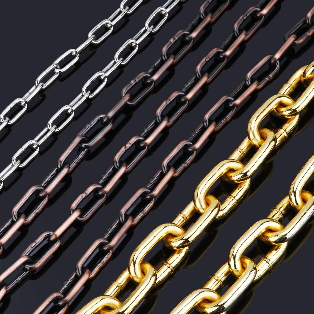 大号吊灯铁链子金色链金属吊灯铜吊灯不锈钢铁吊灯锁链条铜链