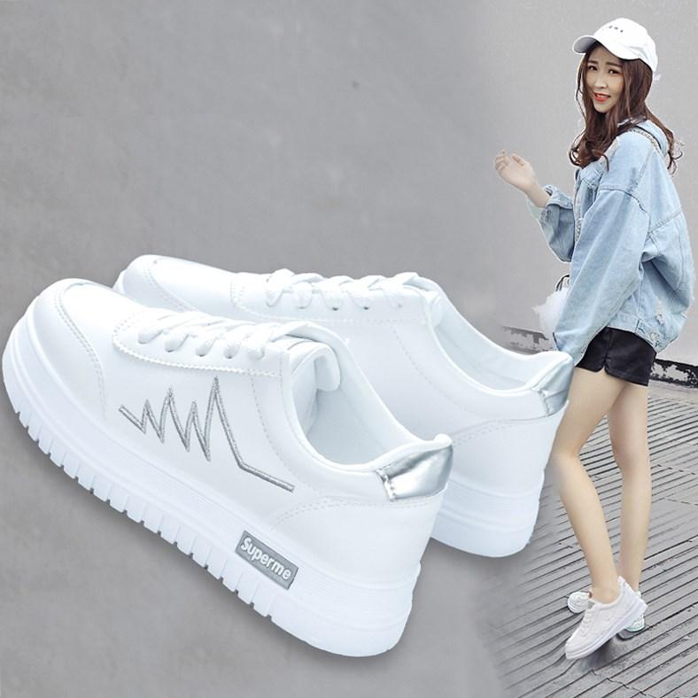 鞋子女2020年新款女鞋春季休闲鞋女春夏百搭流行小白鞋女平跟爆款