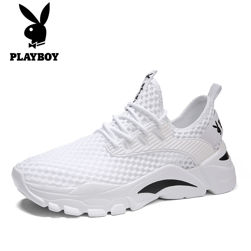 Playboy sandals men 2021 new summer sports and leisure men wear non-slip beach Baotou hole shoes