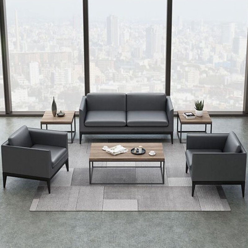 Office furniture sofa tea table combination business reception clothing 4S store leisure reception area sofa modern simplicity