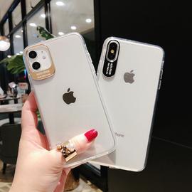 适用于苹果11手机壳iPhone11ProMax透明x硅胶xr/7/8/新Se/6s防摔iphonex超薄简约网红新p女男款软ins风保护套图片