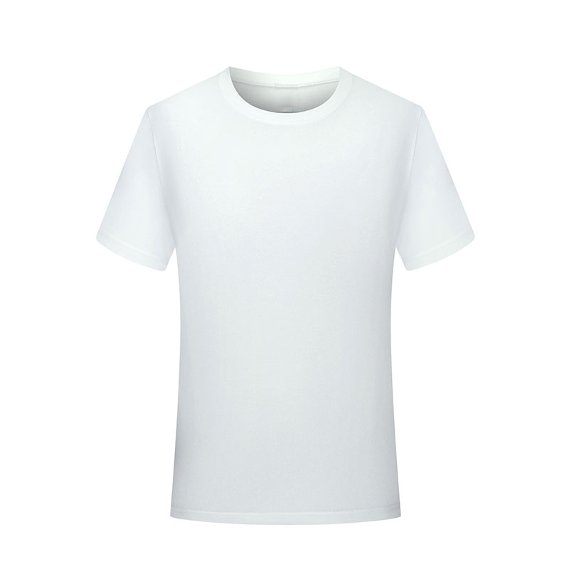Cotton T-shirt short sleeve mens and womens fashion brand printed round neck