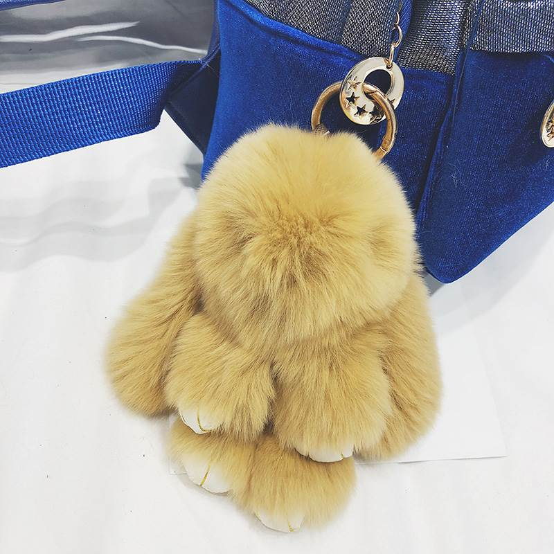 Dead Rabbit Plush pendant bag car baby rabbit backpack hanging ear accessories animal doll rabbit decoration student