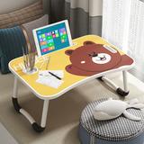 笔记本电脑桌床上可折叠懒人小桌子卧室坐地学生宿舍学习书桌简约