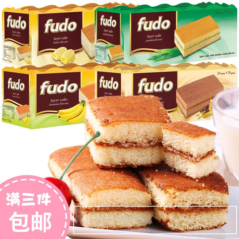 马来西亚进口福多提拉米苏网红蛋糕手撕面包432g代餐糕点进口零食