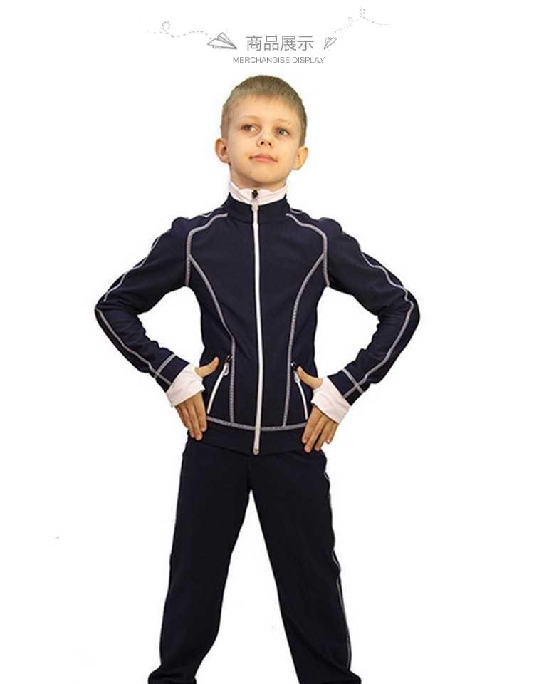 子供用のアイスホッケーのトレーニング服大人用フィギュアスケートのセットズボンのアイスホッケーの少年服