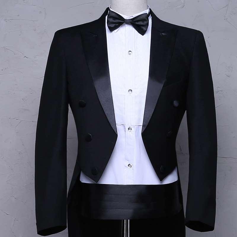 New Style Tuxedo mens slim dress suit suit mens conductors uniform