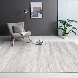 北欧轻奢灰色地毯客厅沙发茶几地垫卧室满铺简约现代大地毯可定制