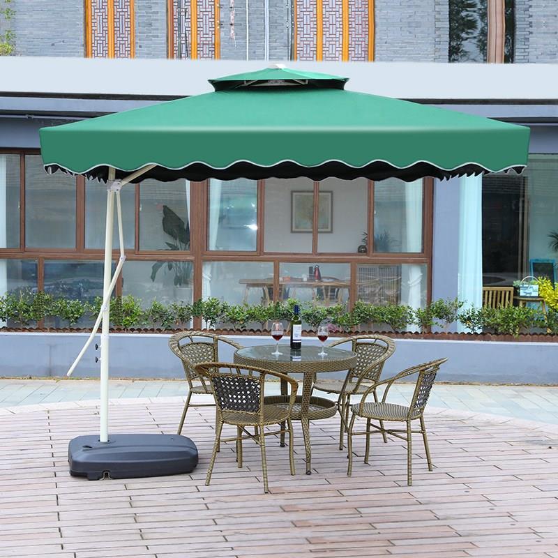 室外遮阳伞太阳伞大伞室外折叠雨伞伞庭院防紫外线摆摊户外遮阳伞
