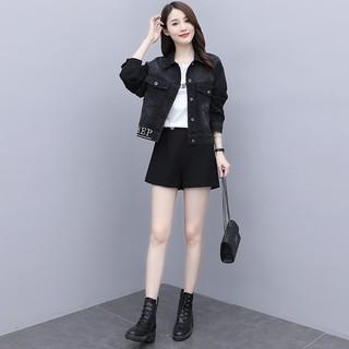 早秋装2020年新款女装时尚洋气减龄套装韩版初秋季气质两件套裙子