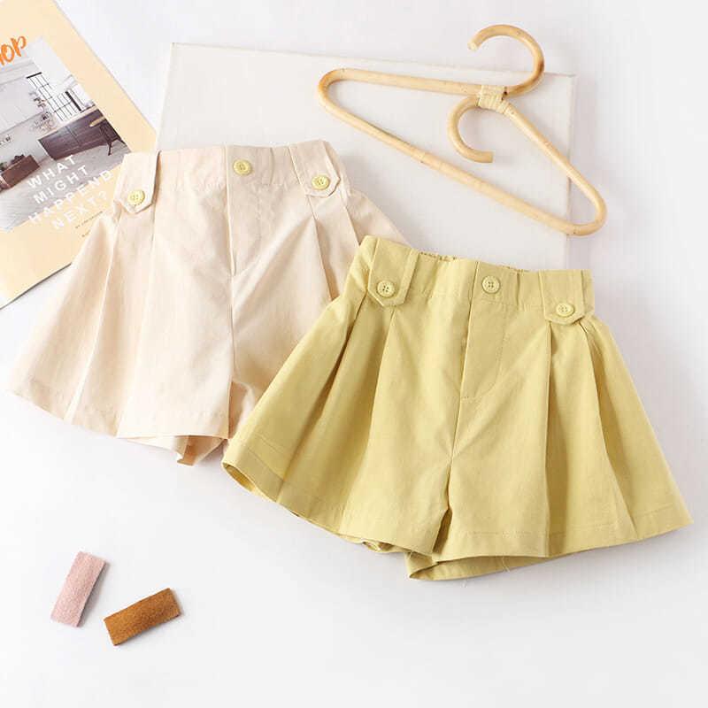 女童短裤夏季新款外穿百搭裙裤儿童裤子薄款纯棉宽松休闲运动热裤