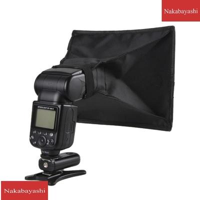 单反相机闪光灯柔光箱 机顶闪光灯柔光罩 15*17cm方形布罩