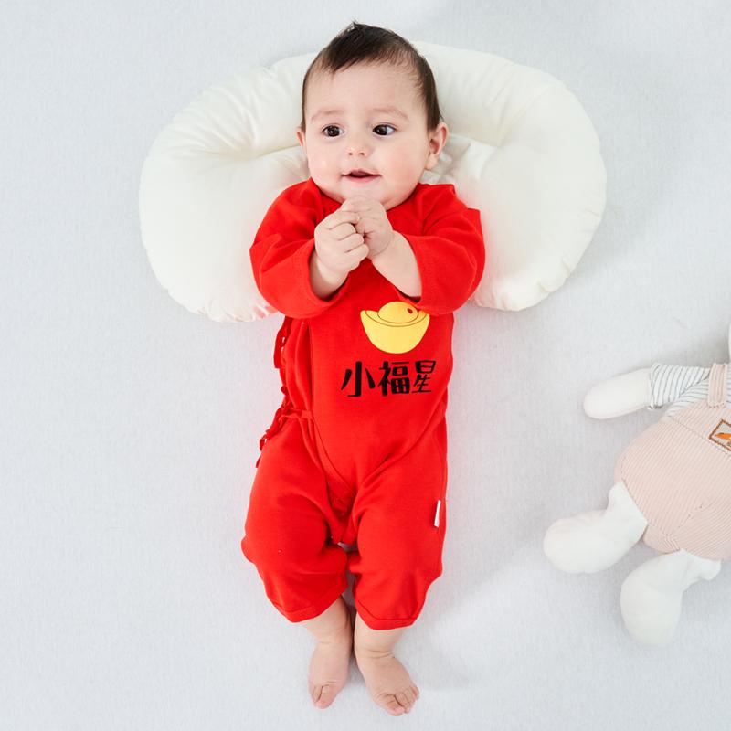 婴儿衣服春秋装纯棉