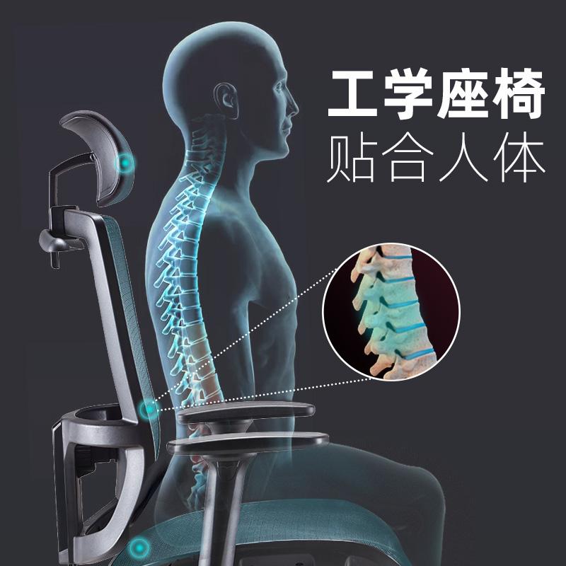 高档圣奥办公椅舒适久坐大班椅电脑椅家用可升降老板椅书房椅子转