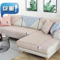 坐垫冬季a做反面面料防滑沙发自带套的布料颗粒环保印染加厚防滑