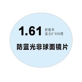 变色高清镜片防蓝光近视眼镜片定制1.56/1.61/1.67非球面近视镜片