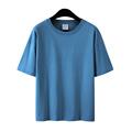 潮牌纯色宽松短袖bf美式重磅t恤