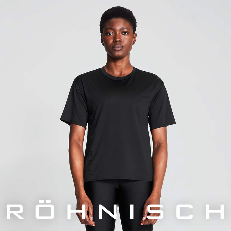Rohnish lunaishi Lvy loose T-shirt sports running fitness indoor and outdoor training clothes 110446