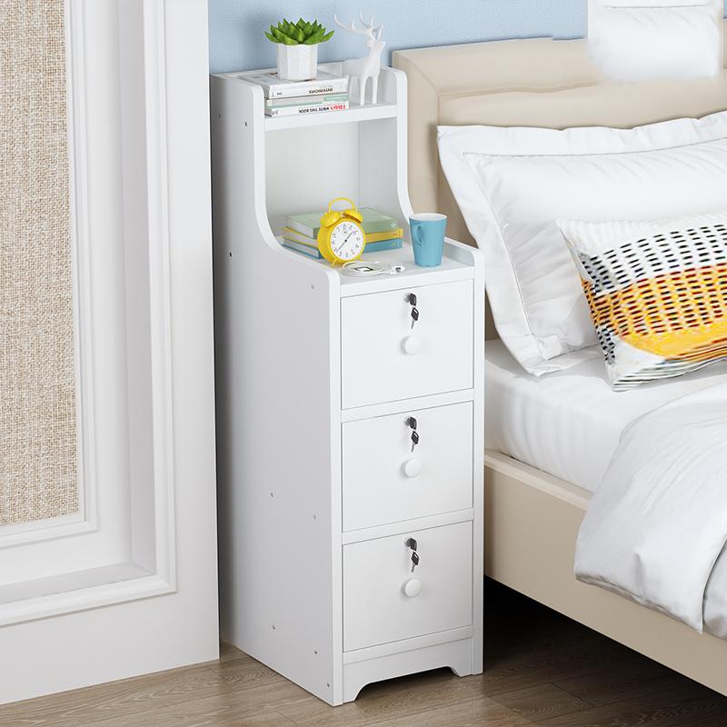 简约现代家用卧室迷你木质床头边几质量好不好