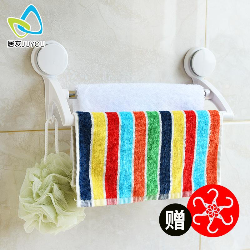 Перфорация для полотенец полотенце стойка мощный присоска полотенце поляк ванная комната для полотенец подключить одиночный заказать двухполюсный
