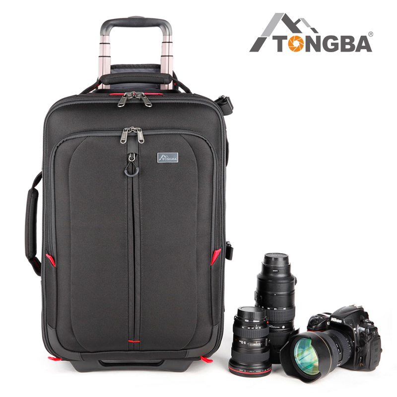Tongba professional SLR camera case Canon digital backpack waterproof shock absorption luggage Nikon camera bag