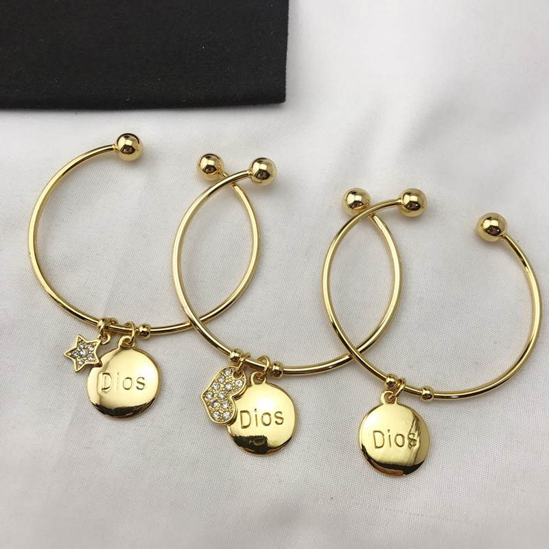 Japanese Fashion: ce-194 open simple bracelet, European and American style