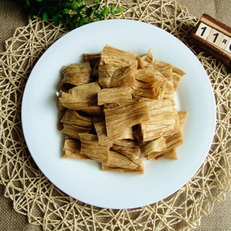 。东北本溪豆皮干货特产豆腐皮促销1000g包邮烧烤凉拌卤豆皮无添