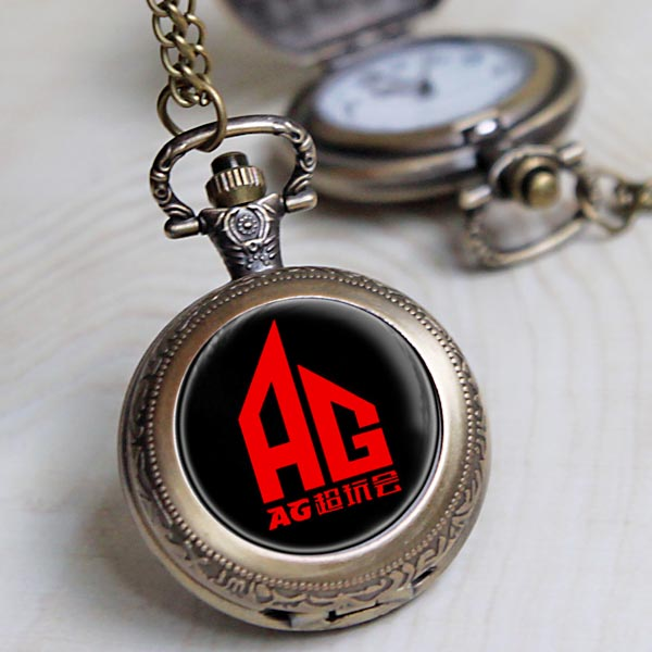 。 The king of Mobile Game Alliance surrounding glory pocket watch Ag super game ESTAR game Necklace Gift AAA