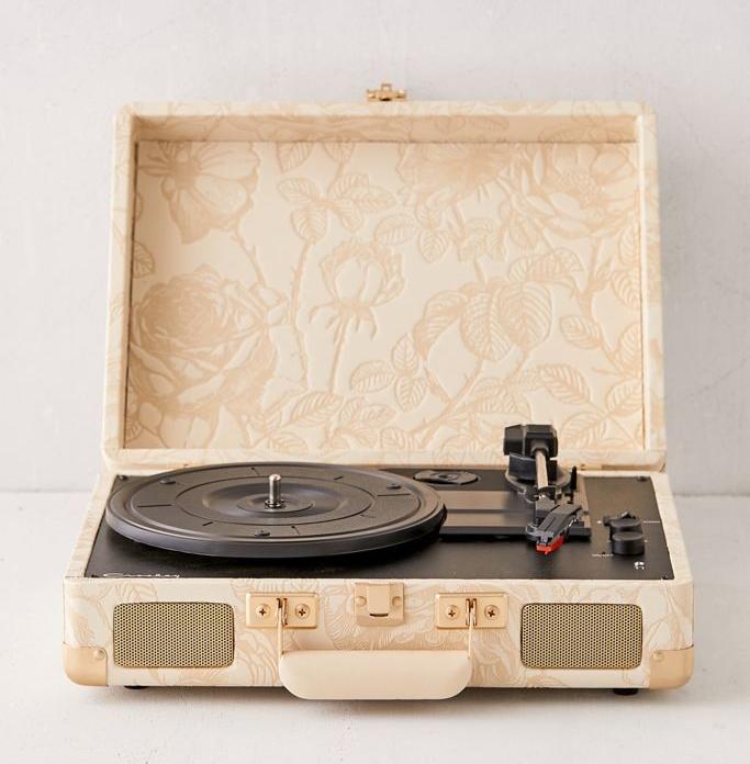 Crosley克罗斯利 CR8005U UO定制版黑胶唱片机便携式电唱机 Изображение 1