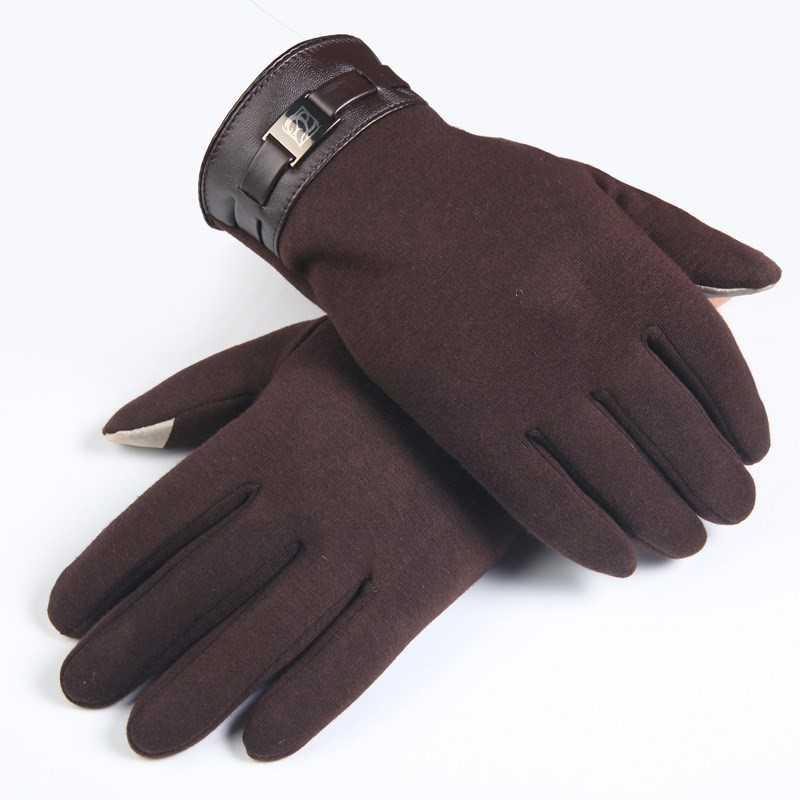 。 Driving gloves mens riding personalized gloves womens autumn spring and autumn 2020 touch screen plus.