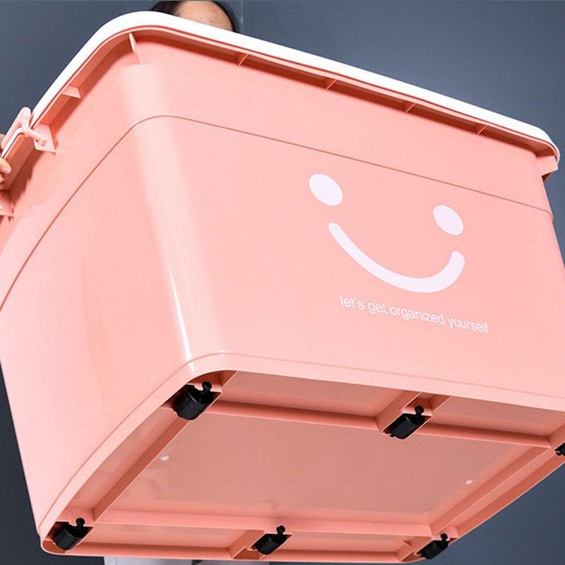 特大号收纳箱塑料整理箱超大装衣服的家用衣物加厚盒储物玩具箱21