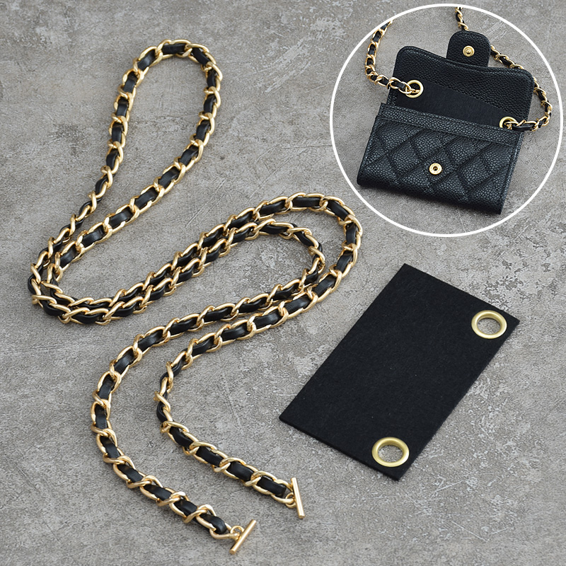 Change for CF metal bag small chain card chain belt sachet accessories prepuce replacement transformation bag slant small span